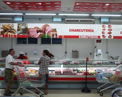 Diseño, producción e implantación de supermercados