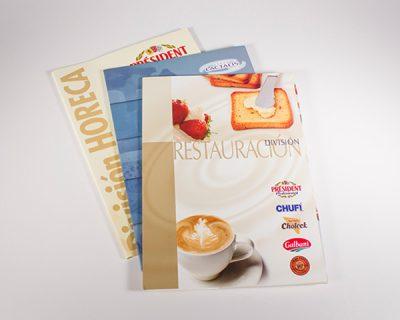 Catálogos producto