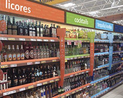 Gestión por categorías Bebidas alcohólicas