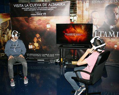 Evento realidad virtual